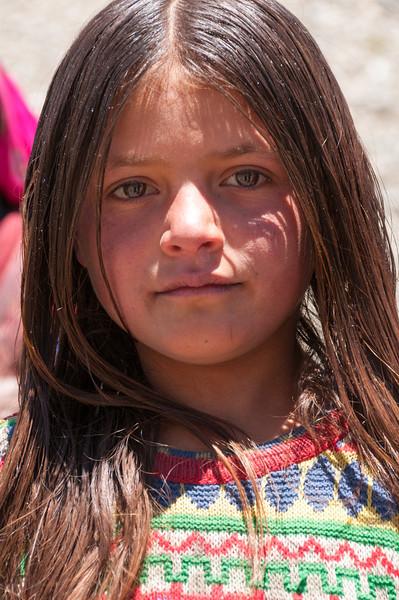 Shepherds grandaughter. Bartang Valley. Tajikistan