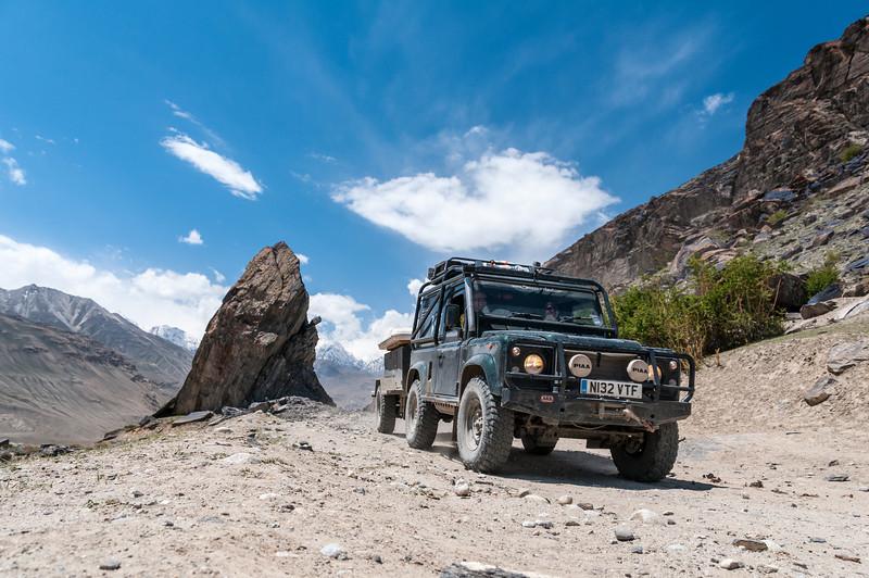 Griff & Lisa. Langar - M41 Pamir Highway, Tajikistan