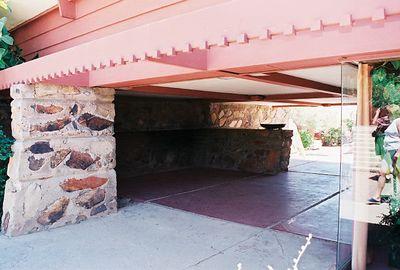 5/18/00 Taliesen West, Scottsdale, AZ Entrance to house
