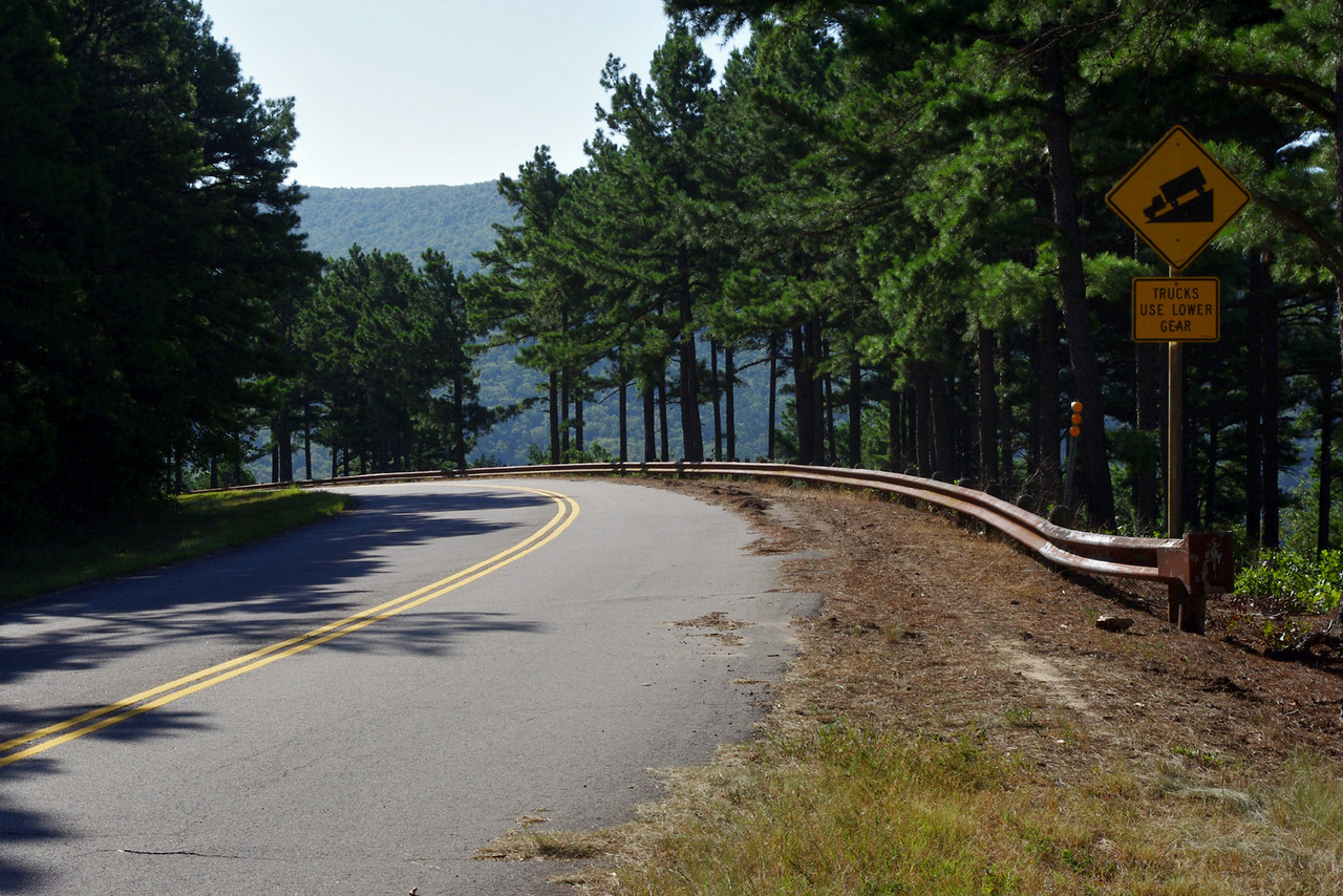 Talimena Scenic Byway in eastern Oklahoma.<br /> <br /> Made for MINI!