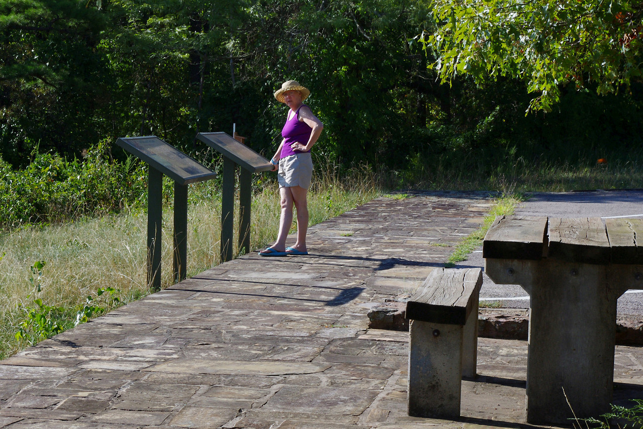 """Rita, Talimena Scenic Byway in eastern Oklahoma.<br /> <br /> I'm not going to try to catalog all the sights and attractions, so look up: """"Talimena Scenic Byway"""" if you're interested in the details."""