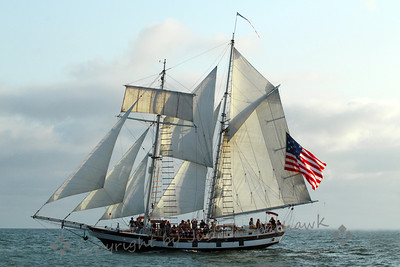 Amazing Grace Under Sail ~ Another view of this beautiful ship.