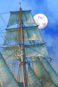 Moon in the Sails