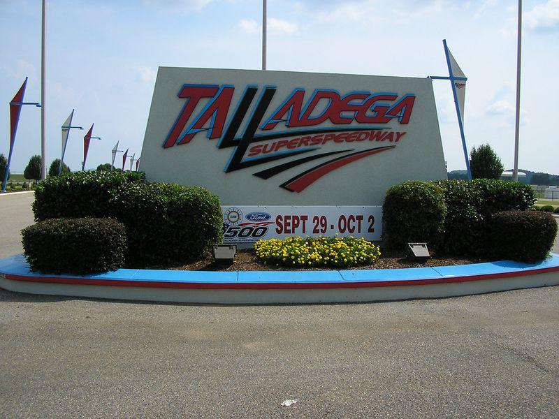 Entrance to Talladega Superspeedway