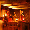 """Inside the """"Olde Hansa"""" medieval restaurant in old town. Traditional food, candle light (absolutely no electricity), can't see what you're eating, some live music...<br />  <a href=""""http://www.oldehansa.ee/"""">http://www.oldehansa.ee/</a>"""