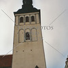 St Nicholas church tower in Tallinn, Estonia.