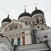 St Alexander Nevsky Cathedral in Tallinn, Estonia.