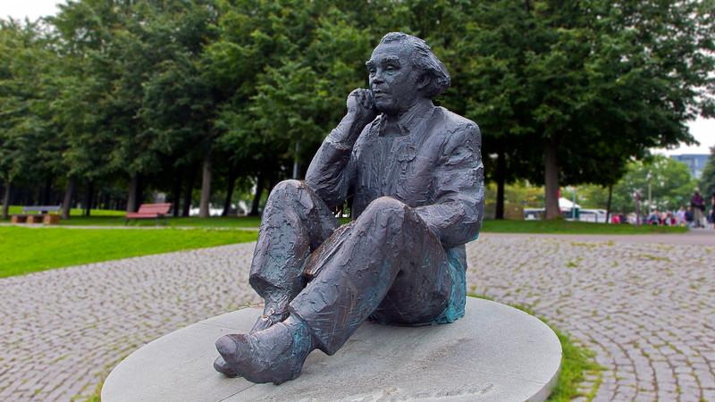 Gustav Ernesaks, 1908-1993, general leader of the song festival.