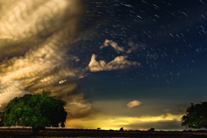 When Stars and Clouds Meet