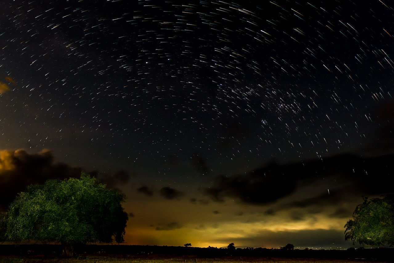 Star Trail from Baluran