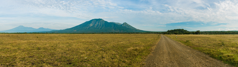 Mount Balur and  Bekol Savanna
