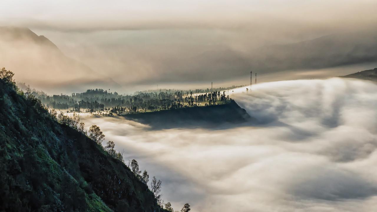Fluffy Fog Blanket