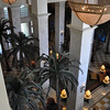 Atrium view inside the Marriott Tampa Waterside hotel.  Wow!