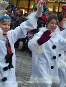 Talven neidot - Winter maidens. Tampereen Joulunavaus - Christmas Season Opening  at Tampere 2009