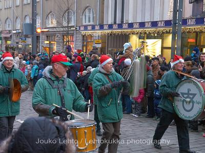 Boy Scouts.Tampereen Joulunavaus - Christmas Season Opening  at Tampere 2009
