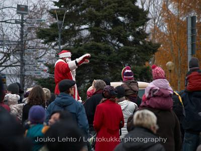 Pukki - The Santa.Tampereen Joulunavaus - Christmas Season Opening  at Tampere 2009
