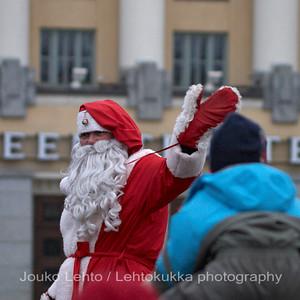 Terveisiä Petterille! Greetings to Peter! Tampereen Joulunavaus - Christmas Season Opening  at Tampere 2009