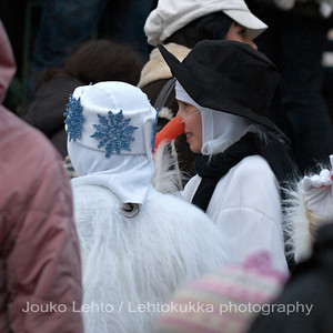 Porkkananenät - Carrot noses. Tampereen Joulunavaus - Christmas Season Opening  at Tampere 2009
