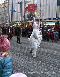 Pupuja ja muita otuksia - Bunnies and other creatures.Tampereen Joulunavaus - Christmas Season Opening  at Tampere 2009