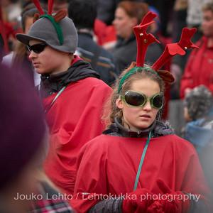 Hybridiporot - Hybrid reindeers.Tampereen Joulunavaus - Christmas Season Opening  at Tampere 2009