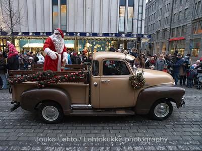 Santa & GMC.Tampereen Joulunavaus - Christmas Season Opening  at Tampere 2009