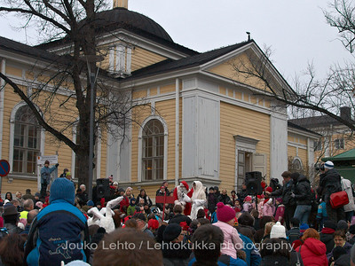 Puhe - The speech Tampereen Joulunavaus - Christmas Season Opening  at Tampere 2009