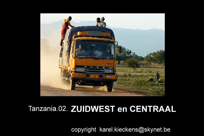 T 01_00  Zuidwest en Centraal Tanzania