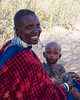 Masai Women with baby, Tanzania