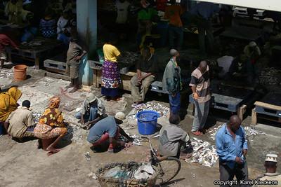 T 01_32 Dar Es Salaam Vismarkt