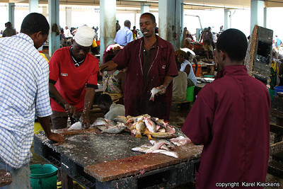 T 01_33 Dar Es Salaam Vismarkt