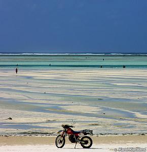 T 03_27 Oostkust Zanzibar Opkomend tij