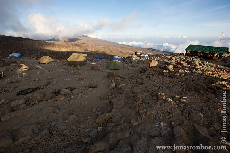 Barafu Camp at 4550 Meters