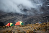 Karanga Camp at 3900 Meters - Tents