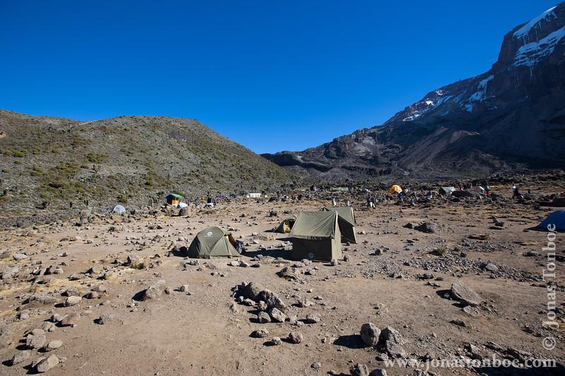 Barranco Camp at 3950 Meters - Barranco Valley