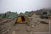 Barafu Camp at 4550 Meters - My Tent