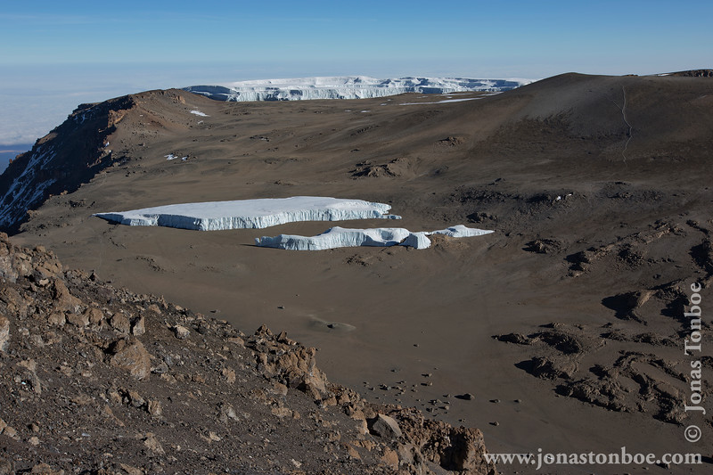 Crater and Glaciers