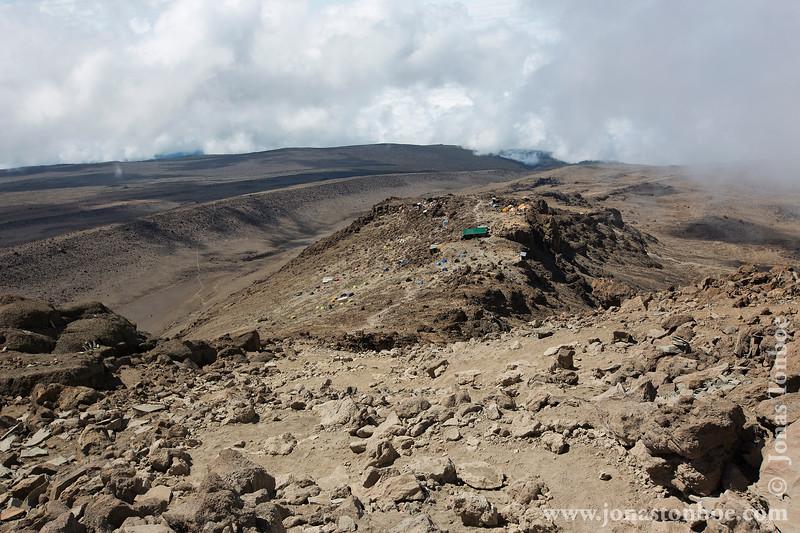 Trail and Barafu Camp
