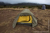 Shira 1 Camp at 3500 Meters - My Tent and Toilet Tent