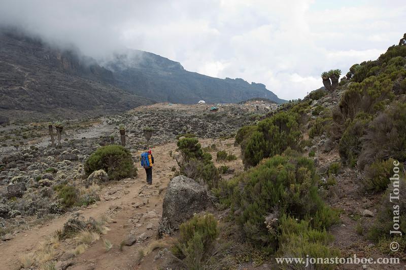 Trail and Barranco Camp