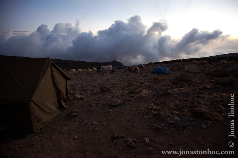 Karanga Camp at 3900 Meters