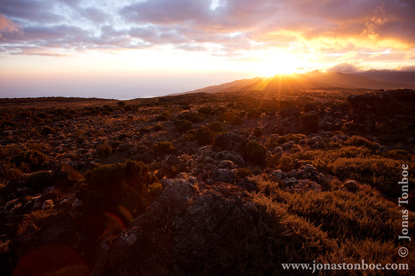 Mt. Kilimanjaro Private Trek - Lemosho Route: Shira 2 Camp - sunset