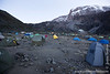 Barranco Camp at 3950 Meters - Mt. Kilimanjaro Summit