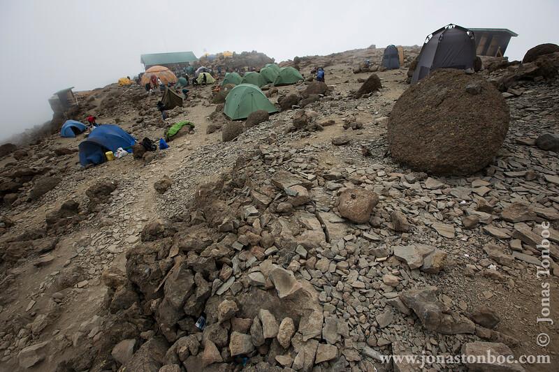 Barafu Camp at 4550 Meters