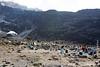 Barranco Camp at 3950 Meters - Barranco Wall