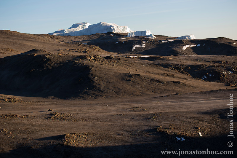 Stella Point at 5685 Meters - Crater and Glaciers