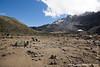 Barranco Camp at 3950 Meters - Barranco Valley and Western Breach