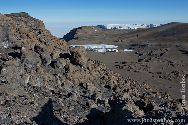 Crater and Glacier
