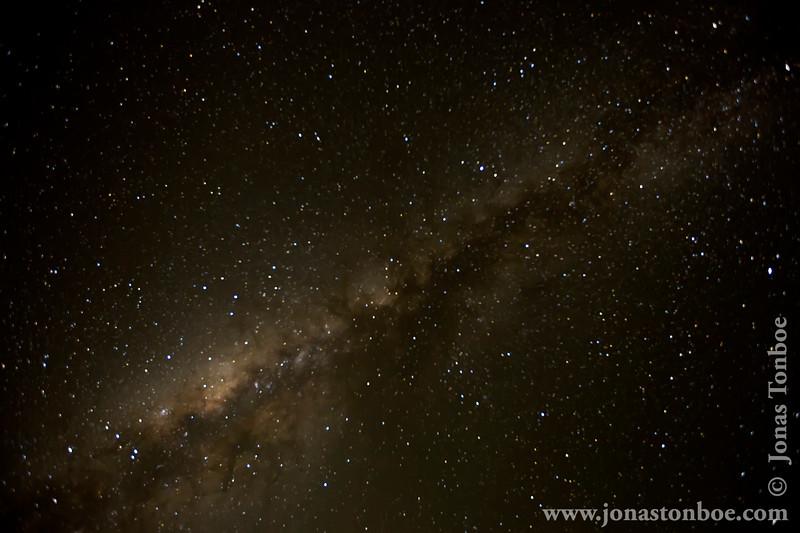 Shira 2 Camp at 3840 Meters - Milky Way