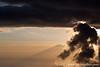 Karanga Camp at 3900 Meters - Mt. Meru Partly Hidden by Clouds
