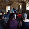 Lunch together at church in Same. Women farmers and community prepared meal. photo by Shelby Morgan